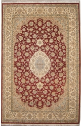 "8'11""X12'1"" Rug Double Knott Pak Persian Design"