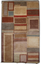 "7'10""X10'2"" Rug Gabbeh Design made with vegetable dyes"
