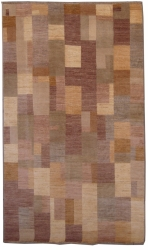 "6'4""X9'7"" Rug Gabbeh Design made with vegetable dyes"